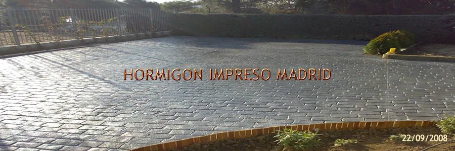 Hormigon impreso en mentrida pavimentos de cemento pulido Hormigon impreso rustico