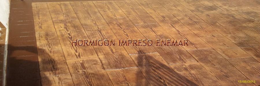 Hormigon impreso en mocejon pavimentos de cemento pulido resina precio - Hormigon impreso madera ...