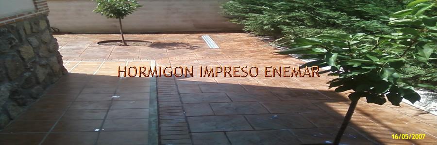 Hormigon impreso en oropesa pavimentos de cemento pulido for Hormigon impreso en toledo