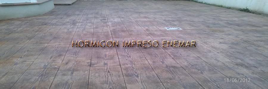 Hormigon impreso en villamuelas pavimentos de cemento for Hormigon impreso en toledo