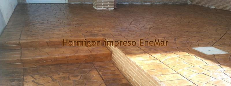 Hormigon impreso en villanueva de bogas pavimentos de for Hormigon impreso paredes