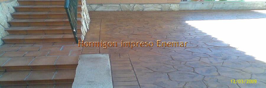 Hormig n impreso en arg s pavimentos de cemento pulido for Hormigon impreso paredes