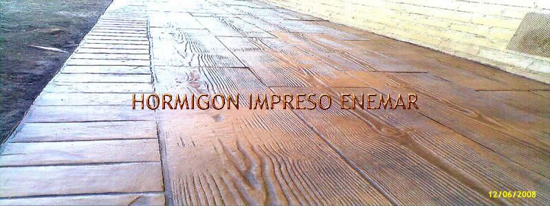 Hormigon impreso en el casar de ecalona pavimentos de for Cemento pulido precio