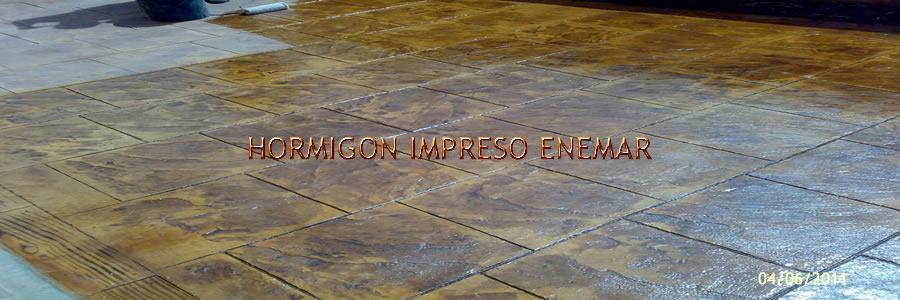 hormigon impreso en Paredes de Escalona Toledo