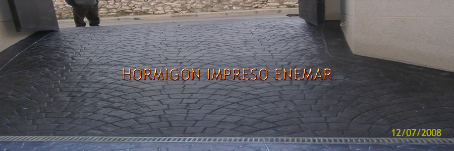 hormigon impreso en Tatones Toledo