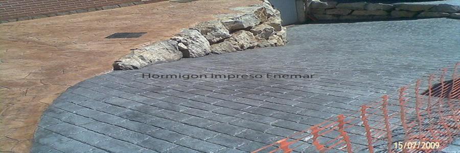Hormigon impreso en tembleque pavimentos de cemento pulido for Hormigon impreso en toledo