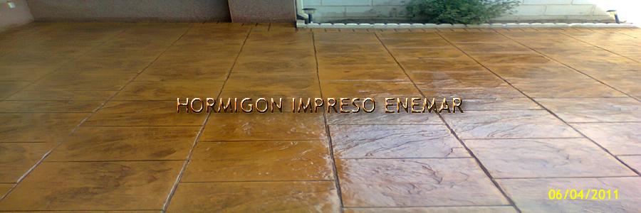 Hormigon impreso en turleque pavimentos de cemento pulido for Hormigon impreso en toledo