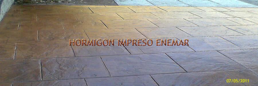 hormigon impreso en navaltoril Toledo
