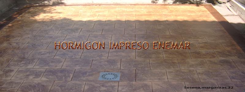 Hormigon impreso en sese a pavimentos de cemento pulido for Hormigon impreso en toledo