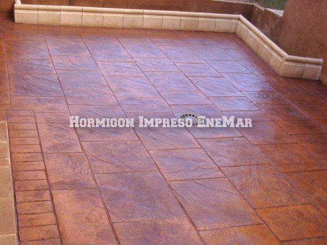 Hormigon impreso en villatobas pavimentos de cemento for Hormigon impreso en toledo