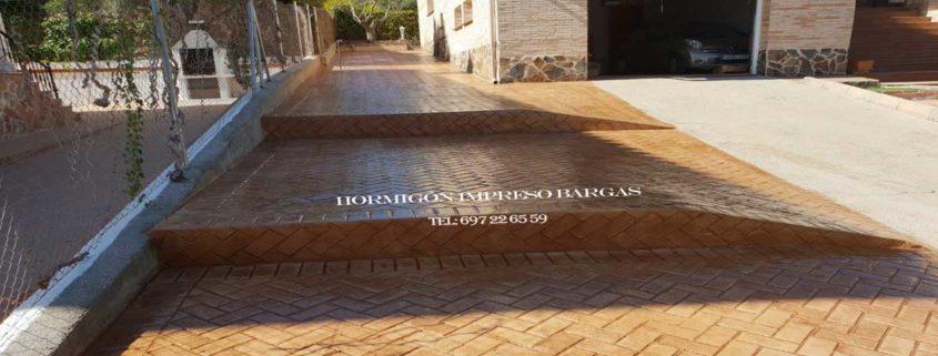 Hormigon impreso Bargas Toledo